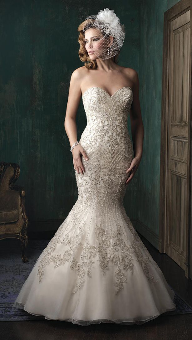 Allure Couture Fall 2015 Wedding Dress C348F