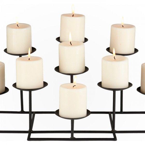 traditionelle Kerzen und Kerzen Halter-Kerzen dekorieren