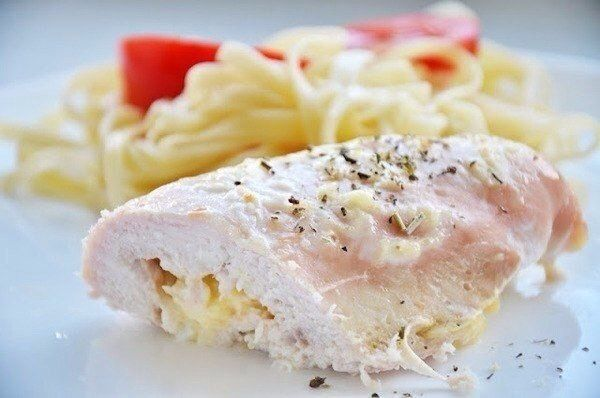 Chicken rolls with cheese