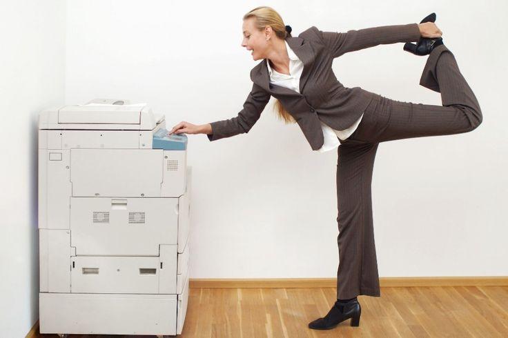 Yoga at Work? Yup!