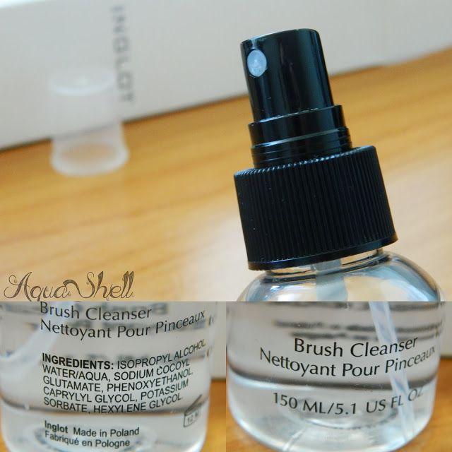 Inglot brush cleanser