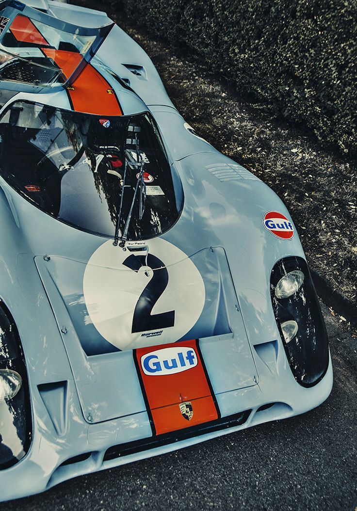 Porsche 917 Gulf livery