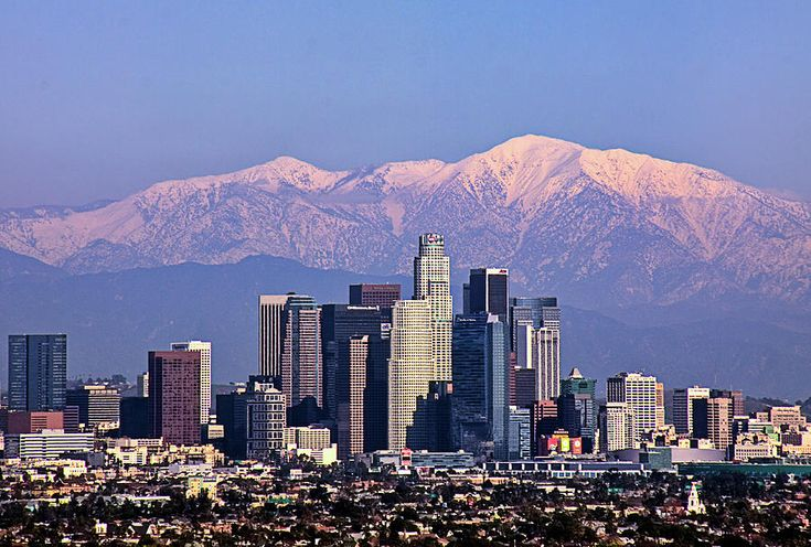 los angeles cityscape - Google Search