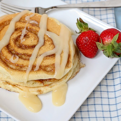 Cinnamon Roll Pancakes for the best mornings ever!: Kids Breakfast, Mothers Day, Recipe, Cinnamon Rolls Pancakes, Yummy, Cinnamon Roll Pancakes, Pancakes Batter, Saturday Mornings, Cinnamon Buns Pancakes