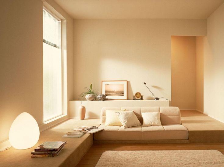 Минимализм в сочетание с пастельными цветами в вашей гостиной