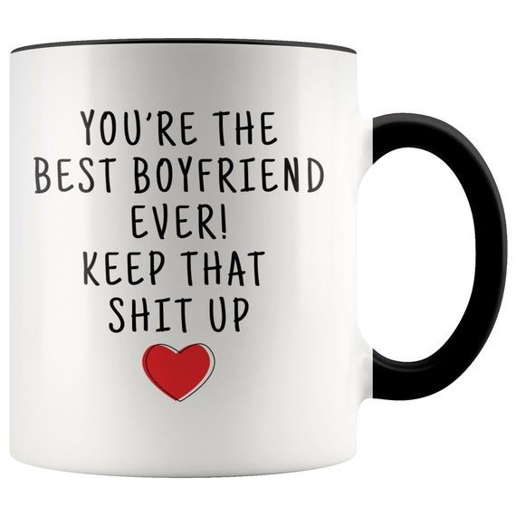 Personalized Gift for Him, Gift for Boyfriend, Funny Boyfriend Gift, Boyfriend Coffee Mug, Funny Boyfriend Mug, Boyfriend Birthday Gift