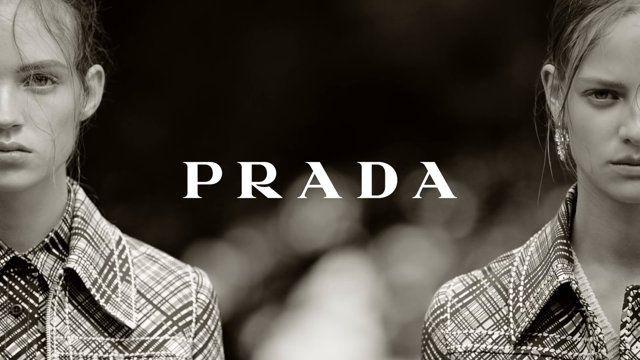 PRADA RESORT VIDEO 2015 Filming & Editing - Gordon von Steiner Photography - Steven Meisel