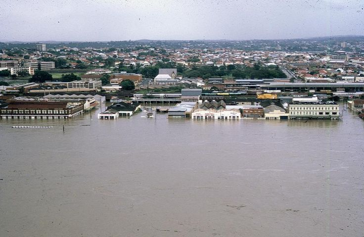 1974 floods - South Brisbane