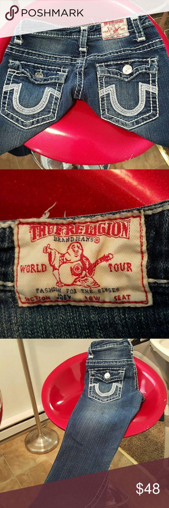 True Religon Joey women's jeans 26/32 Size 26 length 32 excellent condition True Religion Pants Boot Cut & Flare
