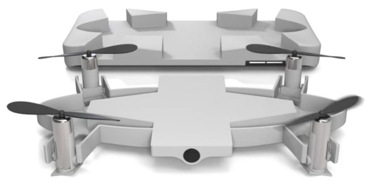 "Selfly camera drone is available on Kickstarter. There are still ""Early Bird"" kits available for $89, so it's quite affordable. They include the camera drone with integrated battery, the case, and the micro USB power cord. The delivery is expected to begin in June 2017.   Selfly camera drone: it ups your selfie game and fits in your pocket - DIY Photography"