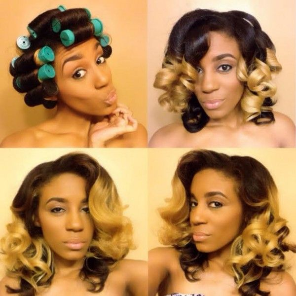 Click the image for Romance's natural hair photos and regimen