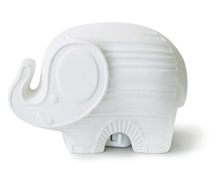 Jonathan Adler ceramic nightlight - elephant