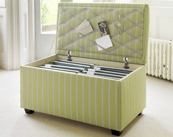 Filing Cabinet Ottoman - just WAY to gorgeous - HOW do people come up with these AMAZING ideas??? :D! LOVE it!