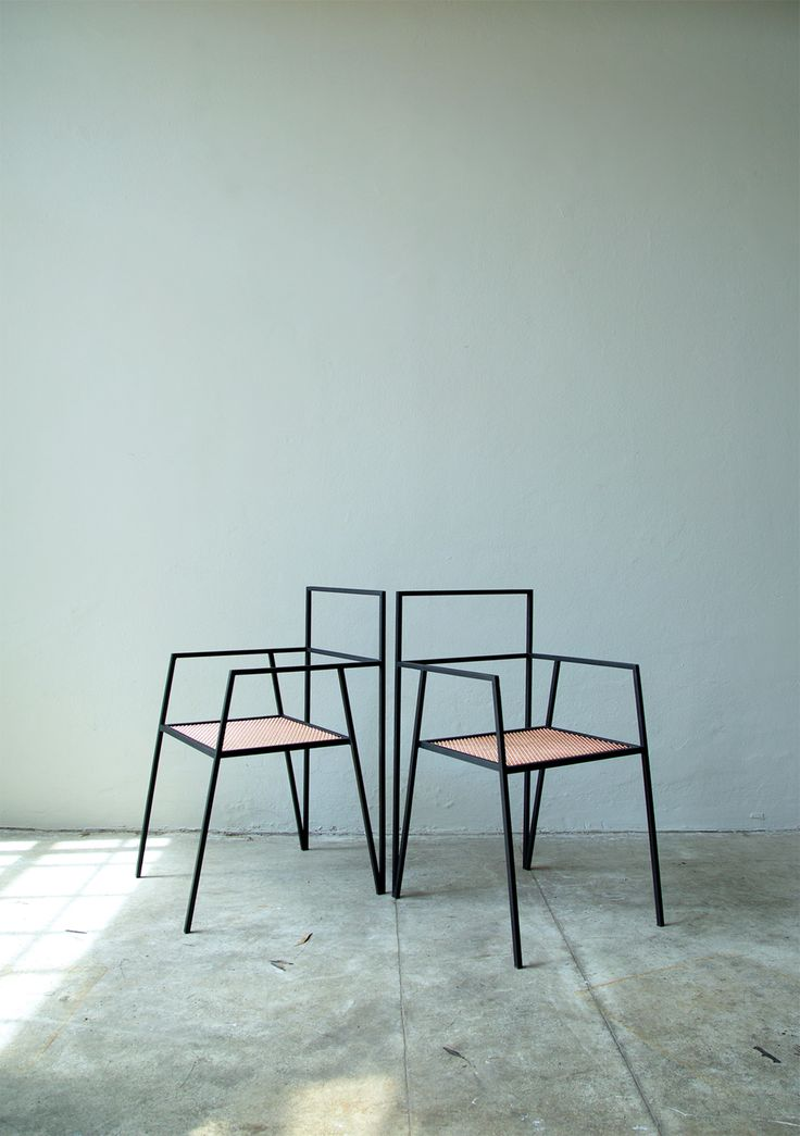 metal furniture design. dezeen u201calpina furniture by ries is made from minimal steel shapes metal design l