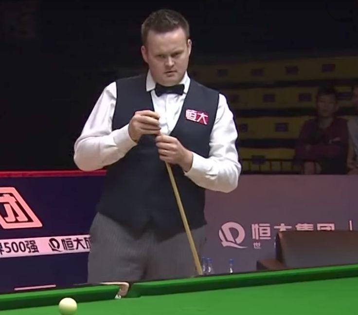 Shaun Murphy, 2017 China Championship. Both pieces have pinstripes.