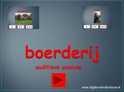 *▶ Boerderij: auditieve analyse