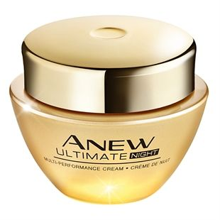 Anew Ultimate Multi-Performance Night Cream From our most advanced anti-ageing collection. A luxurious night cream that promotes surface skin regeneration. Formulated with exclusive Celluvive Complex and tilicora extract to help enhance surface skin cells' purifying process. 50ml