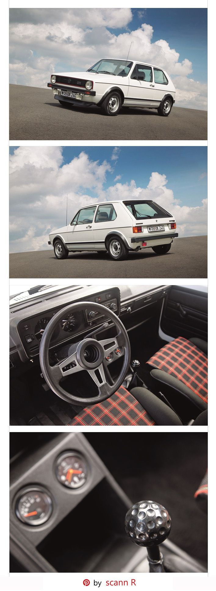 The first Golf GTI - 1975