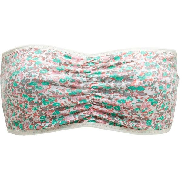 Reversible Printed Bandeau Bra ($5.49) ❤ liked on Polyvore featuring intimates, bras, tops, bandeau, shirts, bandeaus, antique white, floral bra, charlotte russe and bandeau bras