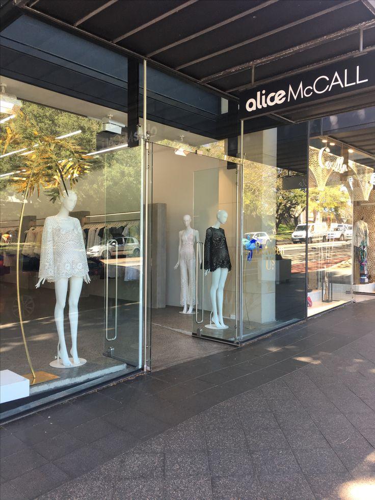 VM window display Alice McCall  The visuals