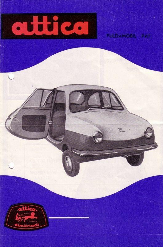 Attica (Greece) - 1962 - 1977)