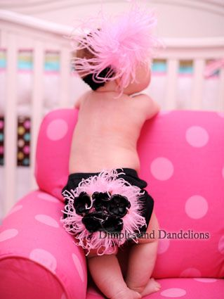 So cuteee!: Little Girls, Sweet, Baby Headbands, Pink Feathers, Pink Baby, Daughters, Future Kids, Future Baby, Baby Girls Clothing