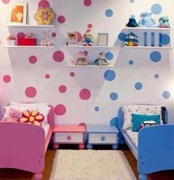 Preppy boy and girl bedroom...i dont have a girl but just in case one day :)