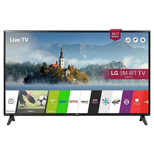 #Tescodirect: LG 49LJ594 49 Inch Smart Full HD LED TV with Freeview Play #blackfriday