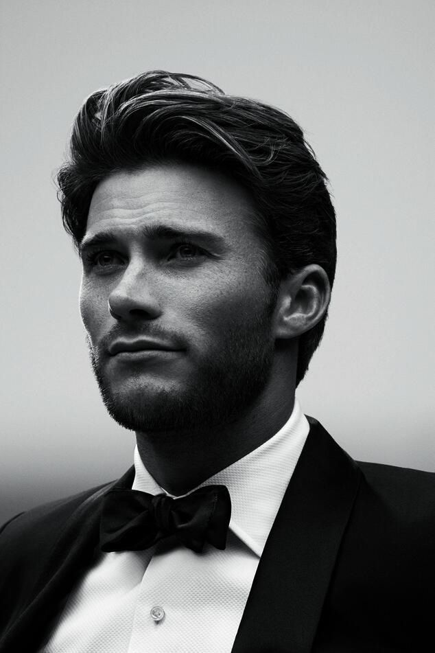 Clearly I love black and white photos of men. But this is Clint Eastwoods son, better genes than I thought