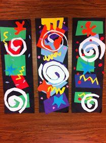 Drip, Drip, Splatter Splash: Matisse Cutouts
