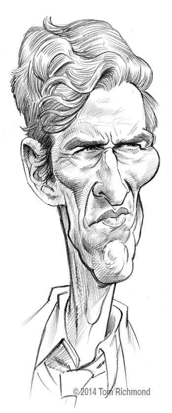 Matthew McConaughey ©2014 Tom Richmond