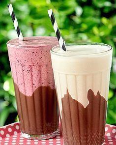 Milk-shake com brigadeiro  Receita de Renata Fernandes, da Folie (Foto: Divulgação)