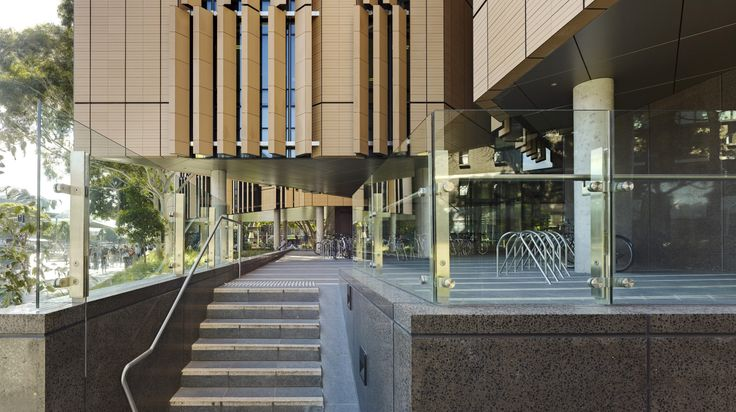 South pedestrian and bike entry, Tyree Building, UNSW Australia
