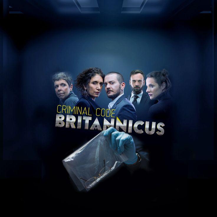 Criminal Code: Britannicus [Poster design in Progress]