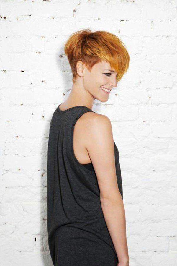 66 Pixie Schnitte für dickes / dünnes Haar
