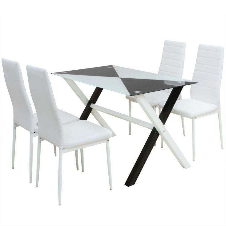 Matsal bord och stolar design | Bord och stolar, Vitt