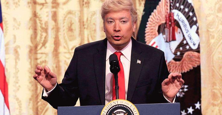 Watch Jimmy Fallon Mock Donald Trump's Solo Press Conference  http://feedproxy.google.com/~r/highsnobiety/rss/~3/a3Jn964Ppt4/