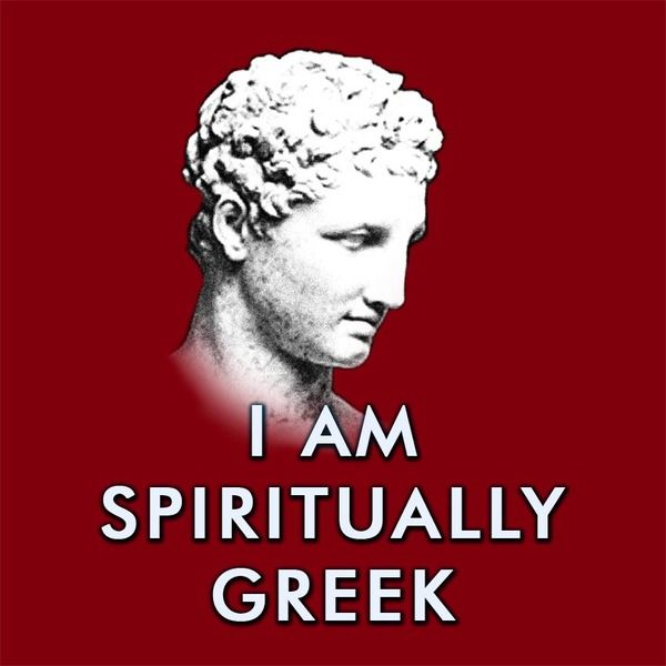 I am spiritually Greek - printable slogan from 3dgArtStudio by DaWanda.com