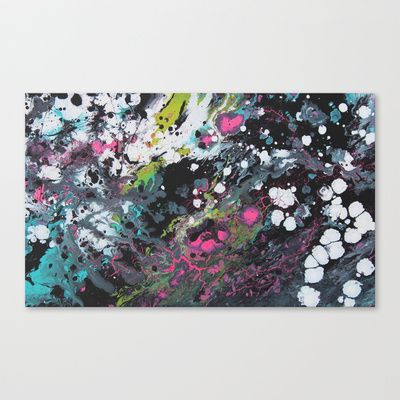 Chemical Synapse Stretched Canvas by Julie Malhotra Art - $85.00
