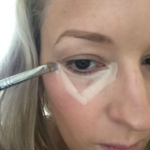 The under eye concealer trick to help you fake awake. Using iT Cosmetics Bye Bye Undereye Concealer. Read more on The Glow.