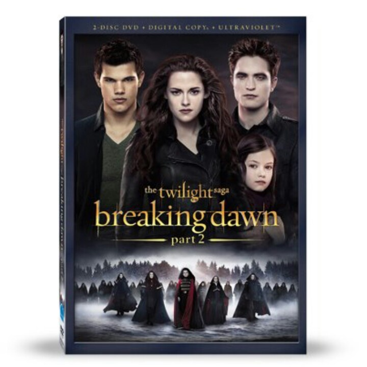 Am getting it Breaking dawn, Twilight breaking dawn