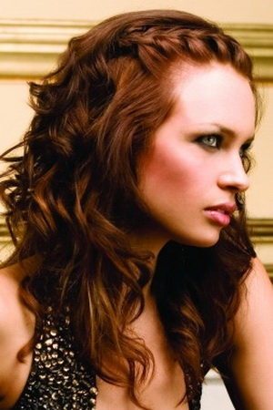 HAIR: French Braids, Hairs Idea, Makeup, Curls, Hairs Styles, Hairs Color, Beauty, Side Braids, Bridesmaid Hairstyles