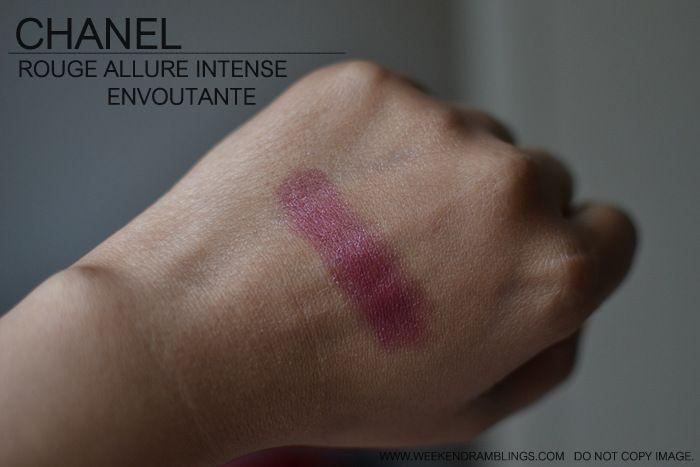 Chanel Rouge Allure Luminous Intense Lipstick - Envoutante 116 Lina's