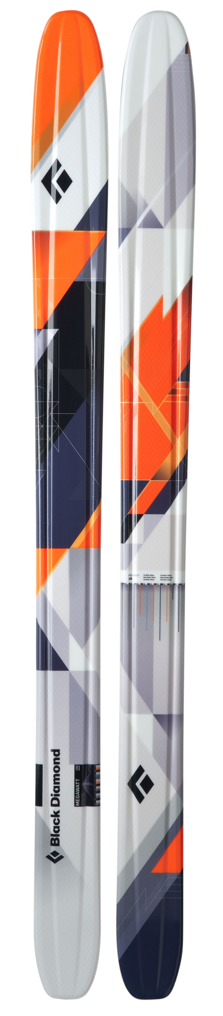 Or Maybe these....Megawatt Ski - Black Diamond Ski Gear