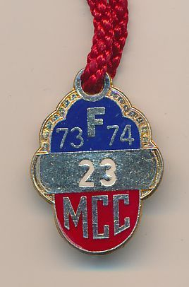 Full Member Badge 1973-74