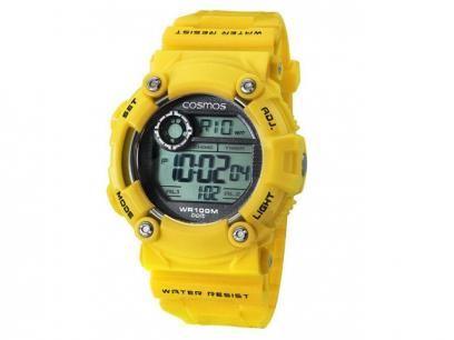 Relógio Masculino Cosmos Digital - Resistente à Água Cronógrafo Cronômetro OS 41388 Y com as melhores condições você encontra no Magazine Krvariedades. Confira!
