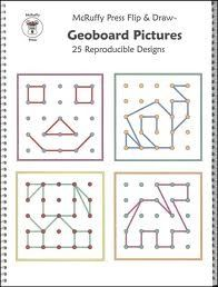 geoboard pattern cards - Google Search
