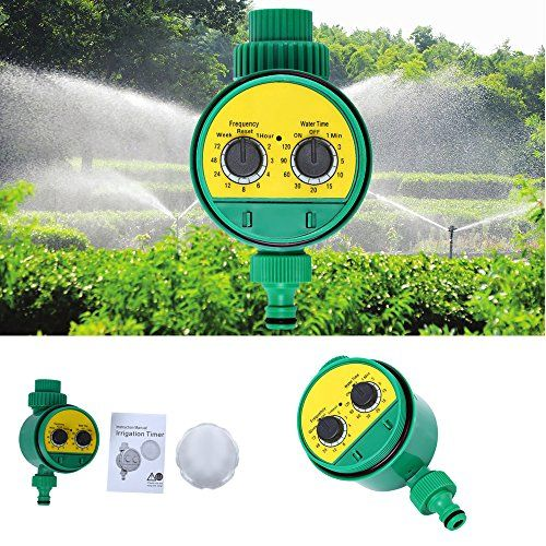 Automatic Garden Water Timer Digital Solenoid Valve Intelligent Irrigation Sprinkler Controller Digital Water Programs System  High quality plastic material, wear resistant and anti-corrosion  Rubber gasket design, leak-proof and tightly sealing  Automatic and intelligent, easy to operate  Hose connection: 13mm - suitable for all known plug-in systems  Suitable for the control of irrigation systems in the domestic sector, such as lawn sprinkler, sprinklers, drip house, etc.