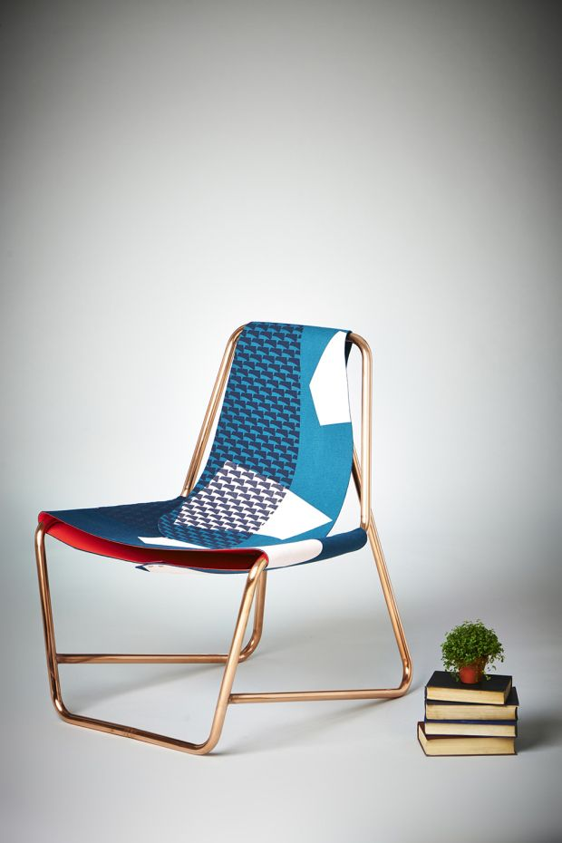 Chroma Frame + Shine - love the pattern on this chair.