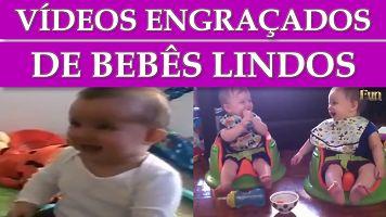Videos Engraçados de Bebe Muito Lindos e Fofos